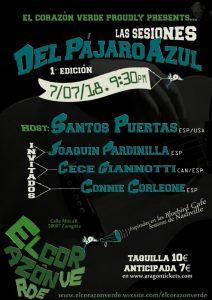 LAS SESIONES DEL PÁJARO @ TERRAZA DEL CORAZÓN VERDE | Zaragoza | Aragón | España