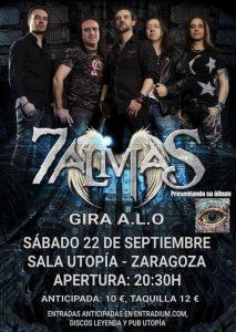 7 ALMAS @ SALA UTOPÍA | Zaragoza | Aragón | España