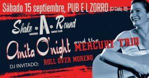 ANITA O´NIGHT & THE MERCURY TRIO @ EL ZORRO | Zaragoza | Aragón | España