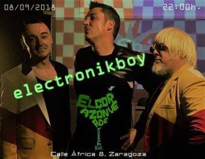 ELECTRONIKBOY + EDU MECANISMO Y SANTI REX @ EL CORAZON VERDE | Zaragoza | Aragón | España