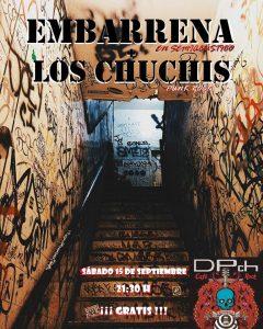EMBARRENA + LOS CHUCHIS @ CAFÉ DPch ROCK | Zaragoza | Aragón | España