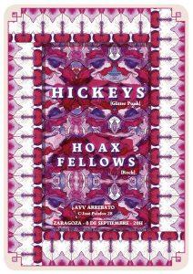 HICKEYS + HOAX FELLOWS @ AVV ARREBATO | Zaragoza | Aragón | España