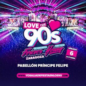 LOVE THE 90'S @ PABELLON PRINCIPE FELIPE | Zaragoza | Aragón | España