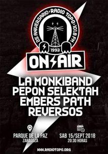 25 ANIVERSARIO RADIO TOPO @ PARQUE DE LA PAZ | Zaragoza | Aragón | España