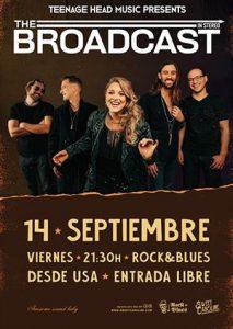 THE BROADCAST @ ROCK & BLUES | Zaragoza | Aragón | España