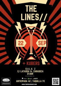 THE LINES + KUBERS @ SALA ZETA | Zaragoza | Aragón | España