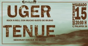 UGER + TENUE @ AVV ARREBATO | Zaragoza | Aragón | España