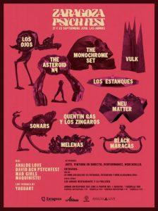 VI ZARAGOZA PSYCH FEST 2018 @ LAS ARMAS | Zaragoza | Aragón | España