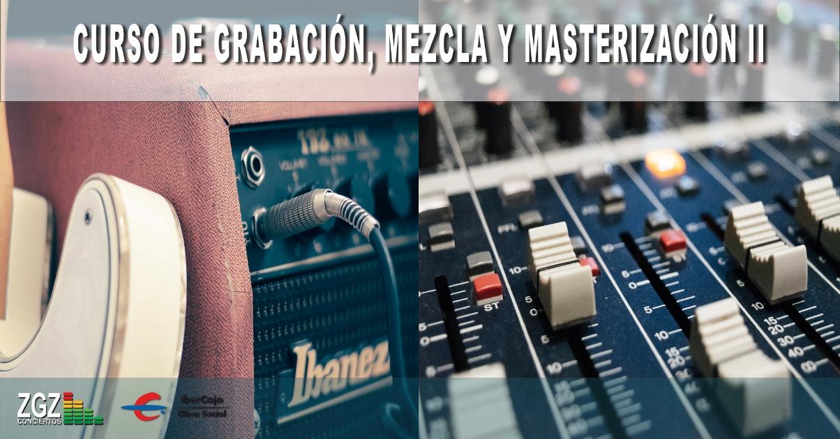 grabación mezcla y master