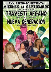 TRAVESTI AFGANO + NUEVA GENERACIÓN @ AVV ARREBATO | Zaragoza | Aragón | España