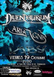 DUENDELIRIUM + ARIA IGNIS @ SALA UTOPÍA | Zaragoza | Aragón | España
