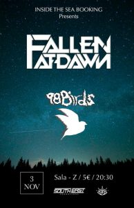 FALLEN AT DAWN + 98 BIRDS @ SALA ZETA | Zaragoza | Aragón | España