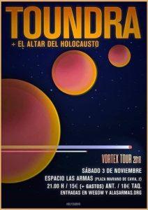 TOUNDRA + EL ALTAR DEL HOLOCAUSTO @ LAS ARMAS | Zaragoza | Aragón | España