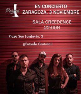 PARDOS @ SALA CREEDENCE | Zaragoza | Aragón | España