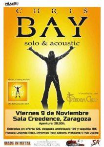 CHRIS BAY @ SALA CREEDENCE