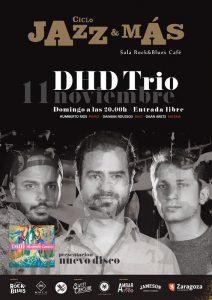 DHD TRÍO @ ROCK & BLUES   Zaragoza   Aragón   España