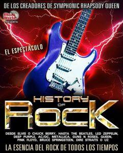 HISTORY OF ROCK @ SALA MULTIUSOS | Zaragoza | Aragón | España