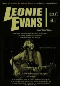 LEONIE EVANS @ EL CORAZON VERDE