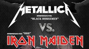 METAL DUO - Metallica Vs. Iron Maiden @ SALA UTOPÍA