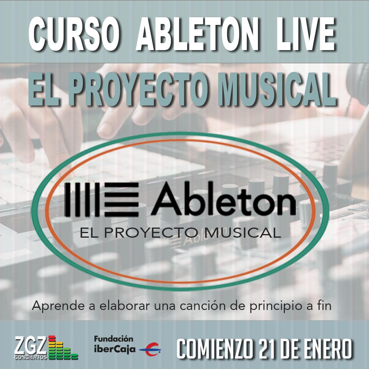 Curso de Ableton, El Proyecto Musical