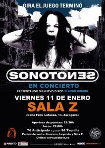 SONOTONES @ SALA ZETA