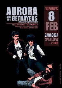AURORA & THE BETRAYERS @ SALA LÓPEZ