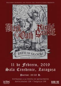 BLACK OATH + NIGHT GAUNT @ CREEDENCE