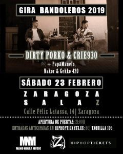 DIRTY PORCO & CRIE930 @ SALA ZETA