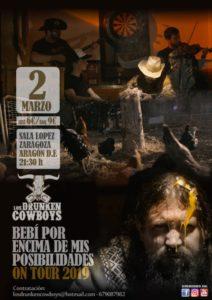 DRUNKEN COWBOYS @ SALA LÓPEZ