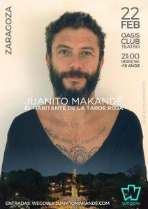 JUANITO MAKANDÉ @ OASIS CLUB TEATRO