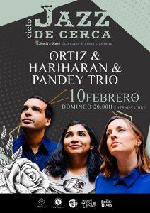 ORTIZ & HARIHARAN & PANDEY TRÍO @ ROCK & BLUES