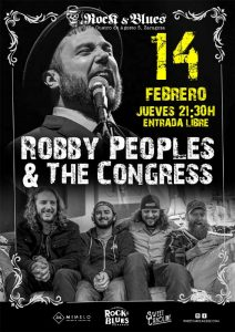 ROBBY PEOPLES & THE CONGRESS @ ROCK & BLUES
