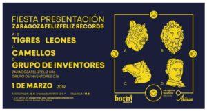 TIGRES LEONES + CAMELLOS + GRUPO DE INVENTORES @ LAS ARMAS