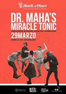 DR. MAHA´S MIRACLE TONIC @ ROCK AND BLUES