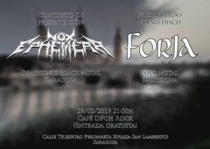 FORJA + NOX EPHEMERA @ CAFÉ DPch ROCK