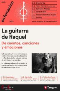 LA GUITARRA DE RAQUEL @ CENTRO CÍVICO SAN JOSÉ