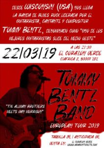 TOMMY BENZ BAND @ EL CORAZON VERDE