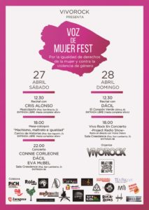 VOZ DE MUJER FEST @ MUSICOPOLIX, CREEDENCE, EL CORAZON VERDE Y CENTRO DE HISTORIAS