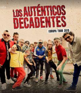 LOS AUTENTICOS DECADENTES @ OASIS CLUB TEATRO