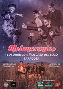 MELANCRÓNICO @ LA CASA DEL LOCO