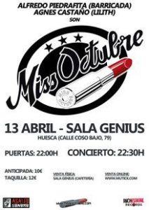 MISS OCTUBRE @ ASOCIACIÓN DE VECINOS LA PAZ