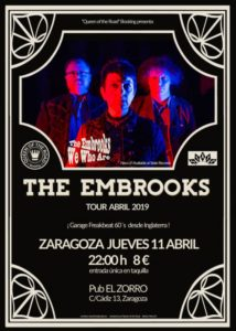 THE EMBROOKS @ PUB EL ZORRO
