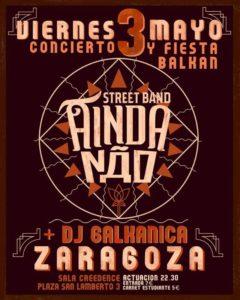AINDA NãO STREET BAND @ CREEDENCE