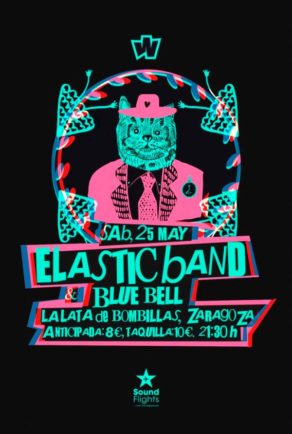 ELASTIC BAND + BLUE BELL