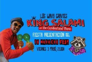 Fiesta presentación IV Mapache Fest @ LA LATA DE BOMBILLAS