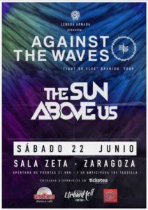 ENTRADAS AGAINST THE WAVES + THE SUN ABOVE US @ SALA Z