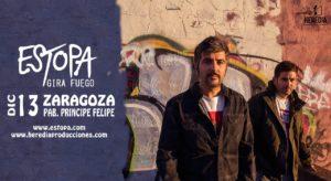 ENTRADAS ESTOPA @ PABELLON PRINCIPE FELIPE