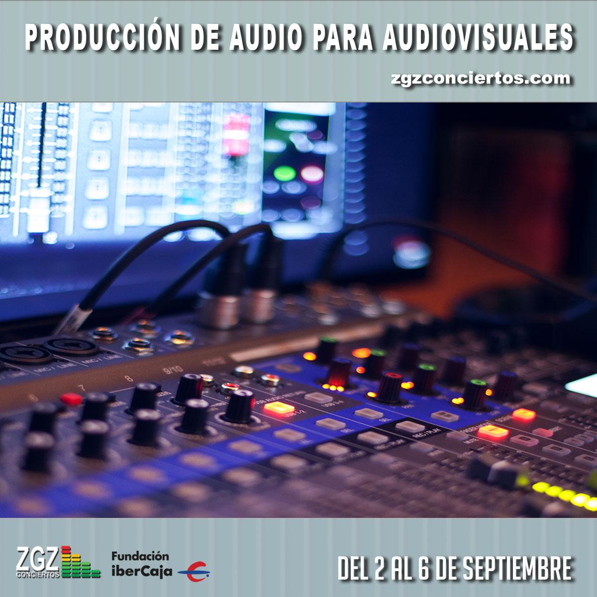 Curso de Producción de Audio para Medios Audiovisuales