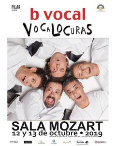 B VOCAL VOCALOCURAS @ SALA MOZART