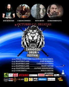 ZARAGOZA DRUM FESTIVAL @ CENTRO CÍVICO DELICIAS